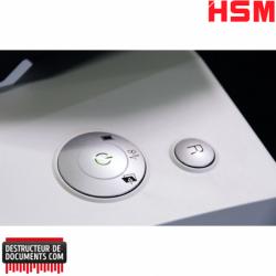 Broyeur de papier HSM Auto Feed 500 - Coupe croisée 0,78 x 11 mm
