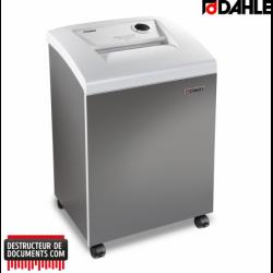 Destructeurs de documents DAHLE CleanTEC 41304 coupe fibre -  3.9mm
