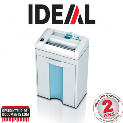 Destructeur de documents IDEAL 2265 - C/F 4 mm