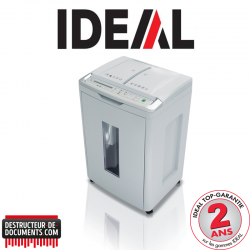 Destructeur de papier IDEAL SHREDCAT 8283 - CC 4 x 10 mm