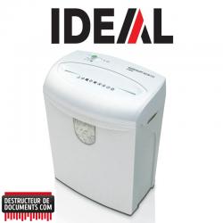 Destructeur de documents IDEAL SHREDCAT 8220 - C/C 4 x 40 mm