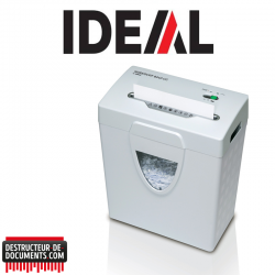 Destructeur de documents IDEAL SHREDCAT 8240 - C/C 4 x 40 mm