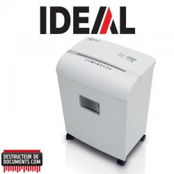 Destructeur de documents IDEAL SHREDCAT 8260 - C/C 4 x 40 mm