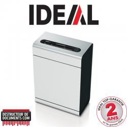 Destructeur de papier IDEAL 1 - CC 2 x 15 mm