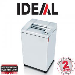 Destructeur de documents IDEAL 3104 - C/C 4 x 40 mm