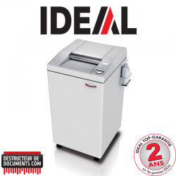 Destructeur de documents IDEAL 3105 - C/C 4 x 40 mm