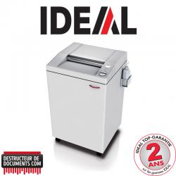 Destructeur de documents IDEAL 4005 - C/C 4 x 40 mm