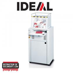 Destructeur de documents IDEAL 4605 - C/C 2 x 15 mm