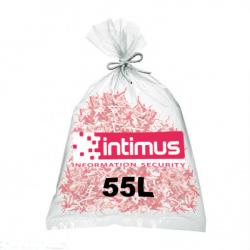 Sacs pour destructeur de papier INTIMUS 55 litres