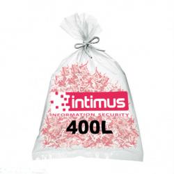 Sacs pour destructeur de papier INTIMUS 400 litres