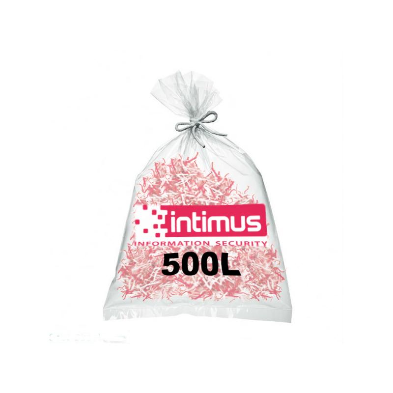 Sacs pour destructeur de papier INTIMUS 500 litres
