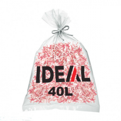 Sac 40 litres pour destructeur de documents IDEAL