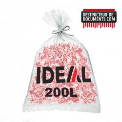 Lot de 100 sacs plastiques IDEAL - 2000 litres (référence 1300)
