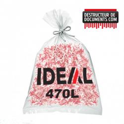 Lot de 100 sacs plastiques IDEAL - 470 litres (référence 1700)