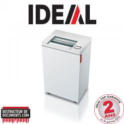 Destructeur de documents IDEAL 2445 - C/C 2 x 15 mm