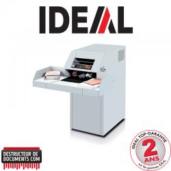 Destructeur de documents IDEAL 4107 - C/C 6 x 50 mm