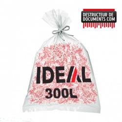 Lot de 100 sacs plastiques IDEAL - 300 litres (référence 1600)