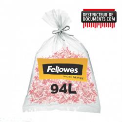 Lot de 50 sacs plastiques FELLOWES - 94 litres (référence 3608401)