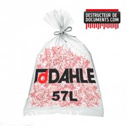 Lot de 10 de sacs plastiques DAHLE 57 litres (référence 20702-21123)