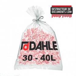 Lot de 10 de sacs plastiques DAHLE 30 - 40 litres (référence 20706-04386)