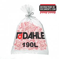Lot de 10 de sacs plastiques DAHLE 190 litres (référence 20705-21119)