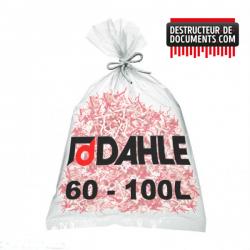 Lot de 10 de sacs plastiques DAHLE 60-100 litres (référence 20707-04494)