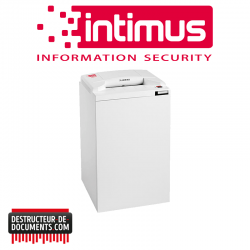 Destructeur de documents INTIMUS 100 SP2 Coupe droite - 3,8 mm