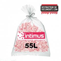 Lot de 100 sacs plastique INTIMUS - 55 litres (référence 99925)