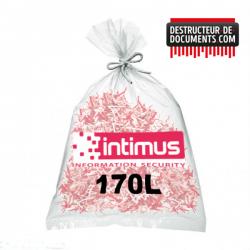 Lot de 100 sacs plastique INTIMUS - 170 litres (référence 99952)