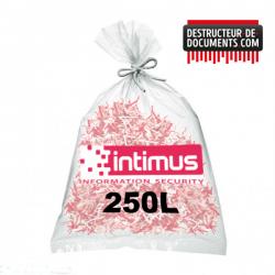 Lot de 100 sacs plastique INTIMUS - 250 litres (références 80946)