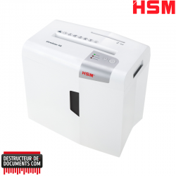 Destructeur de documents HSM Shredstar X8 - Coupe croisée 4,5 x 30 mm