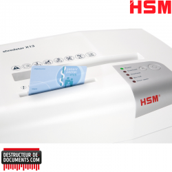 Broyeur de documents HSM Shredstar X13