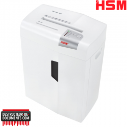 Destructeur de documents HSM Shredstar X15 - Coupe croisée 4 x 37 mm