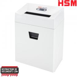 Déchiqueteuse Destructeur de documents HSM Pure 320 - Coupe droite 5,8 mm