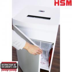 Destructeur de papier HSM Pure 630 - Coupe croisée 4,5 x 30 mm