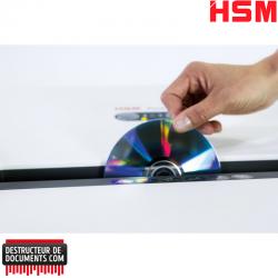 Broyeur de papier HSM Pure 630 - Coupe croisée 4,5 x 30 mm
