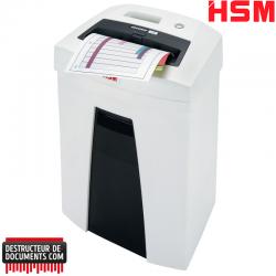 Broyeur de documents HSM Securio C16 - Coupe droite 5.8 mm