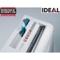 Broyeur de papier IDEAL 2270 - C/F 4 mm