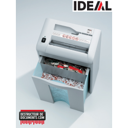 Broyeur de documents IDEAL 2270 - C/F 4 mm