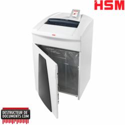 Destructeur de papier HSM Securio P40i - Coupe croisée 0.78 x 11 mm