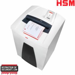Broyeur de papier HSM Securio P40i - Coupe croisée 0.78 x 11 mm