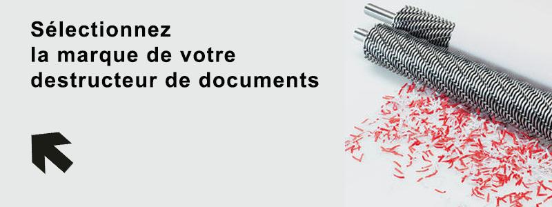 Huile et sacs pour broyeur de documents | destructeur-de-documents.com