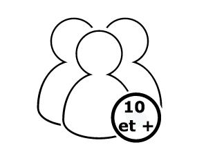 Le IDEAL 3804 convient à plus de 10 personnes