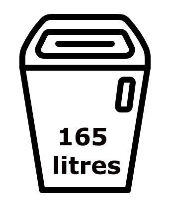 Capacité du réservoir du 3804 : 165 litres