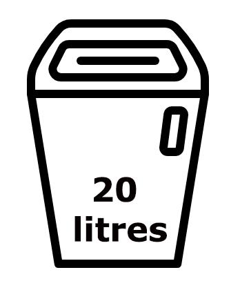 Broyeur de papier IDEAL 2265 20 litres