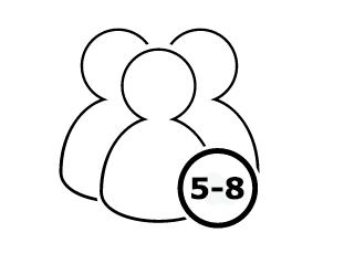 Le IDEAL 2503 convient à 5 à 8 personnes