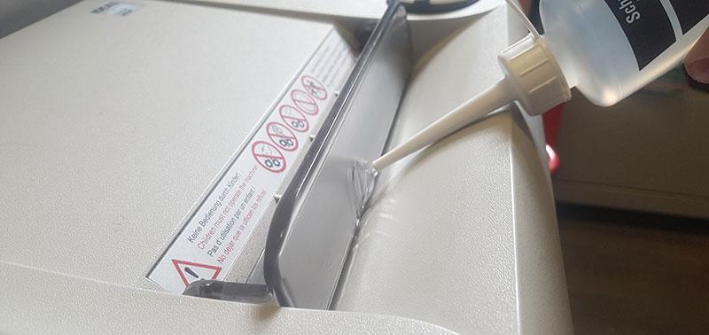 Comment lubrifier un destructeur de papier