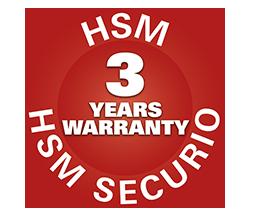 Destructeur de documents HSM AF 100 garanti 3 ans