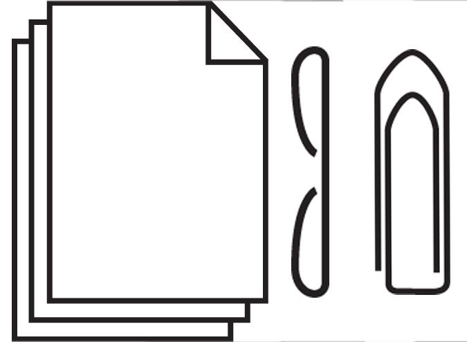 Le destructeur de papier 2245 accepte papier agrafes et trombones