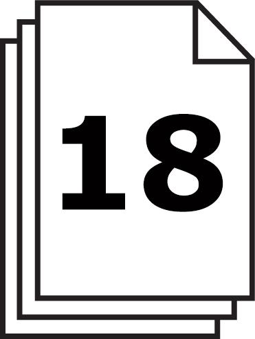 Le broyeur de papier IDEAL 2503 vous permet de broyer 18 feuilles en un passsage